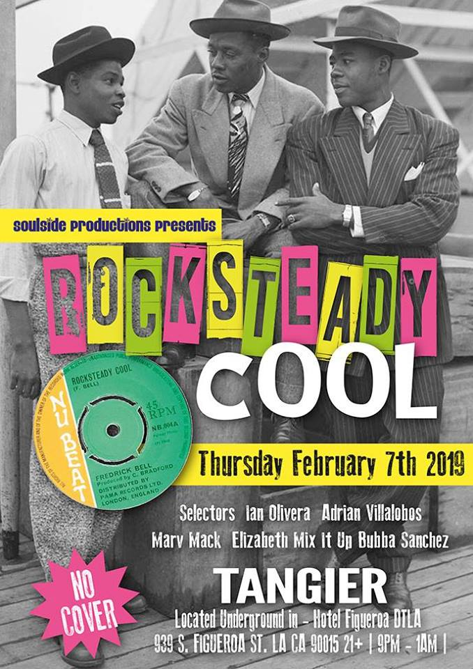 Rocksteady Cool in Tangier at The Fig