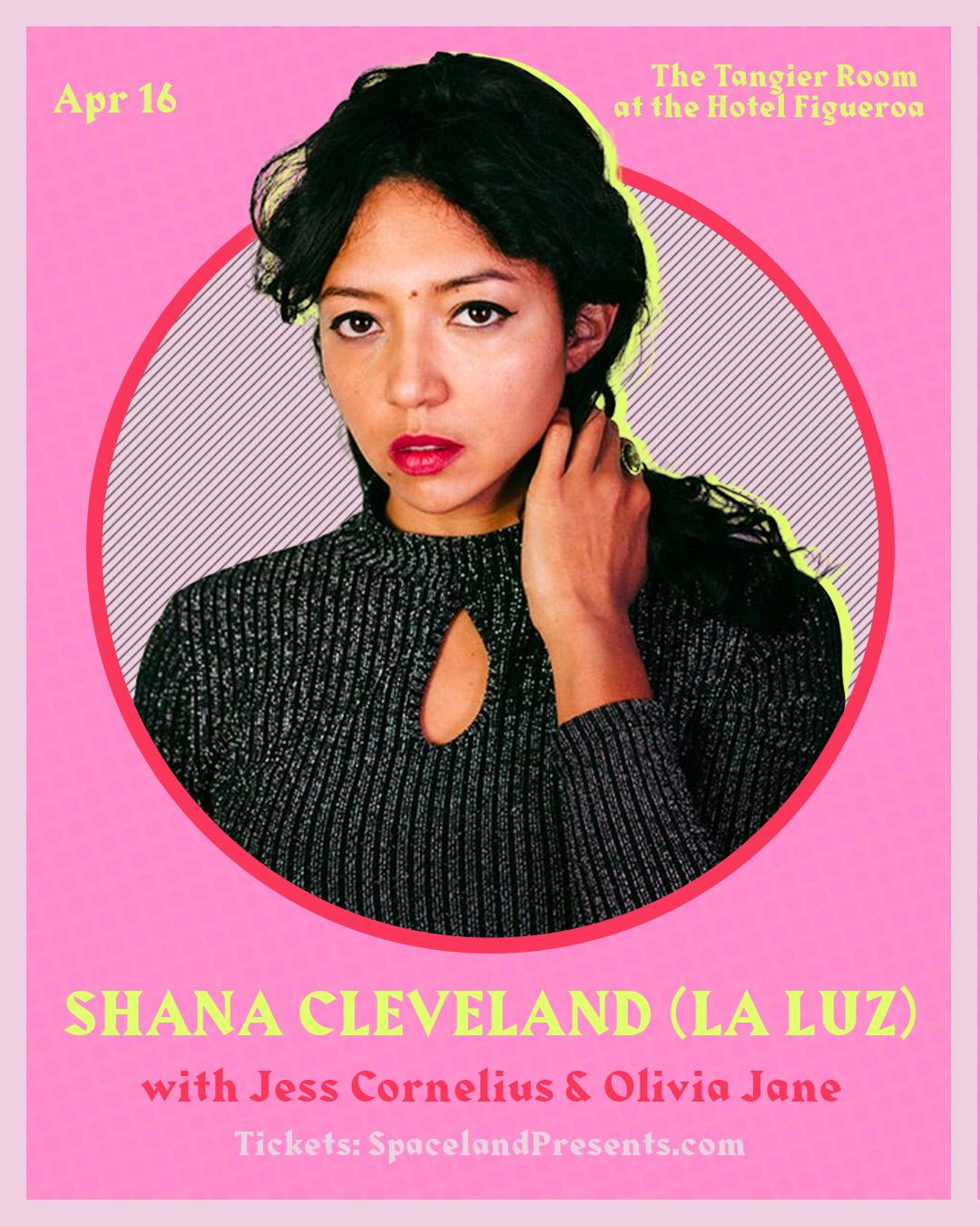 Shana Cleveland at Hotel Figueroa